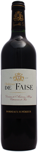 Chateau de Faise Bordeaux Superieur 2011 750ml - Case of 12